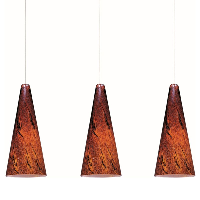 """ET2 E94829-102 3 Light 4.5"""" Wide Pendant From The Lava Collection"""