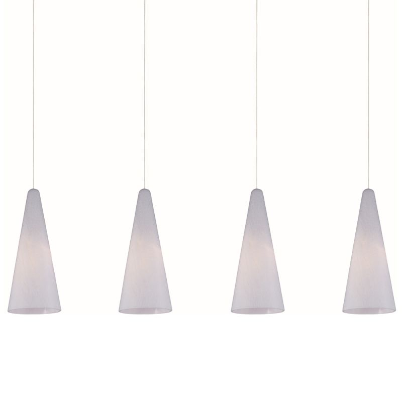 "ET2 E94928-101 4 Light 35"" Wide Pendant From The Lava Collection"