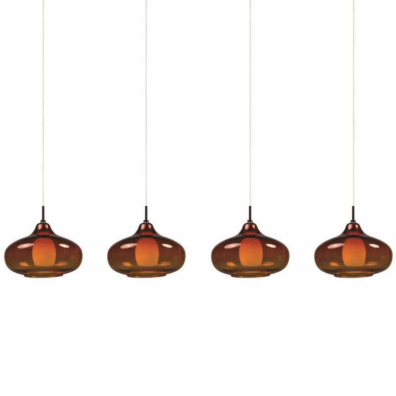"ET2 E94948-141 4 Light 35"" Wide Pendant From The Graduating Collection"