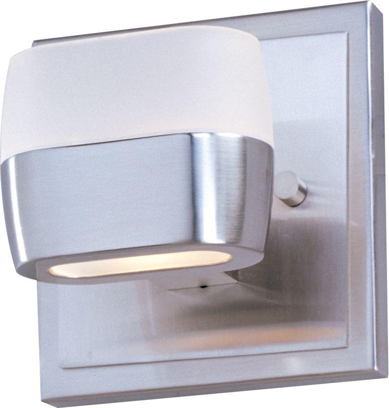 "ET2 E21131 Ellipse 5"" Wide Single-Bulb Bathroom Light Fixture Satin"