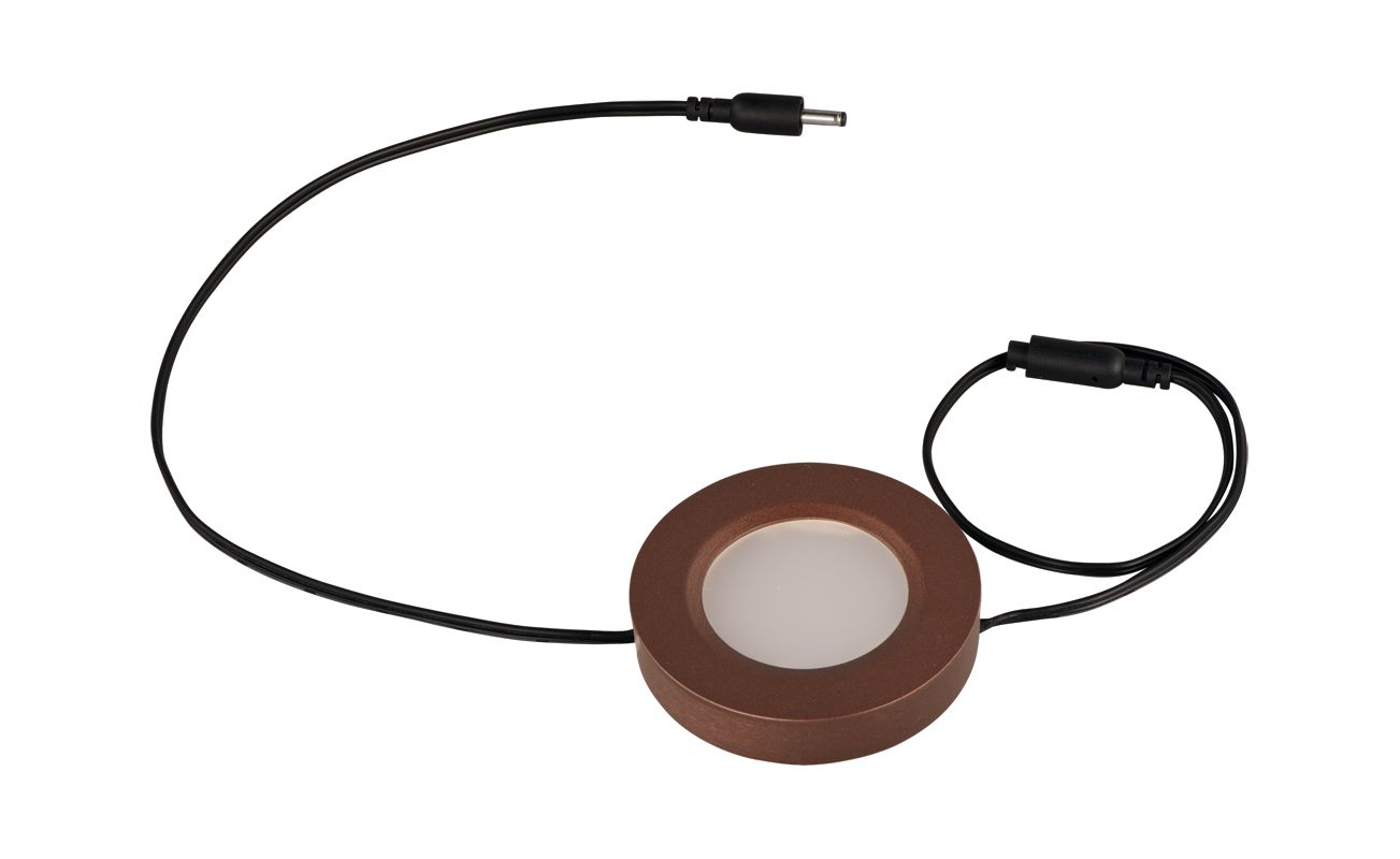 ET2 E53860 CounterMax MX-LD-D Under Cabinet LED Disc Light Anodized