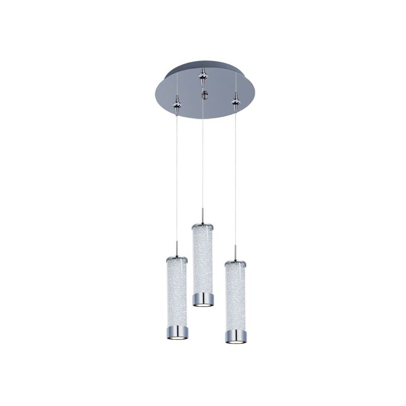 ET2 E94650-130PC Chrome Iridescent Glass Contemporary Chroma Pendant Sale $1498.00 ITEM: bci2099750 ID#:E94650-130PC UPC: 845094057628 :