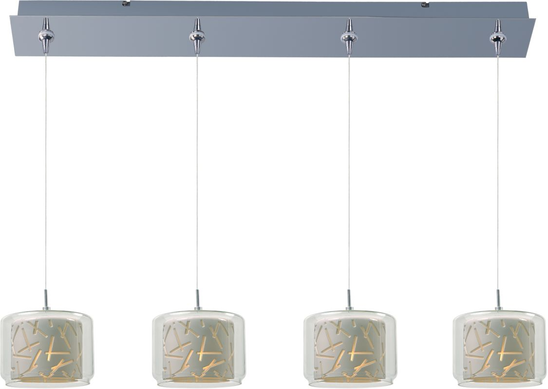 ET2 E94949-10PC Chrome with White Glass Contemporary Minx Pendant Sale $738.00 ITEM: bci2100278 ID#:E94949-10PC UPC: 845094057987 :
