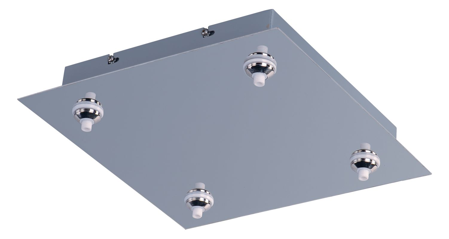 ET2 EC95004 RapidJack 4 Light Canopy Polished Chrome Accessory
