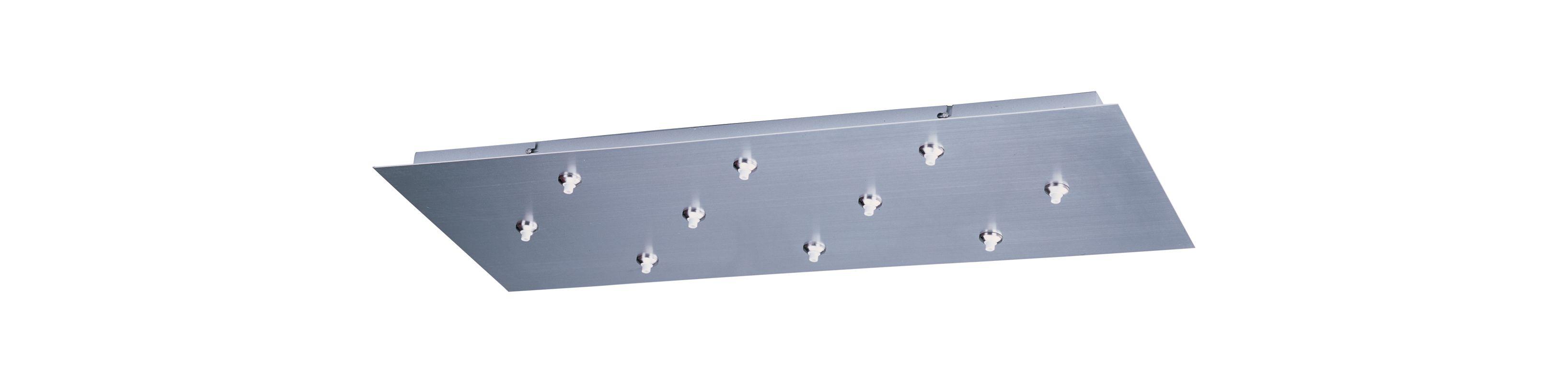 ET2 EC95025 RapidJack 10 Light Canopy Satin Nickel Accessory Canopies