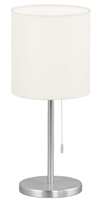 Eglo 82811 Sendo Single-Bulb Table Lamp Aluminum Lamps