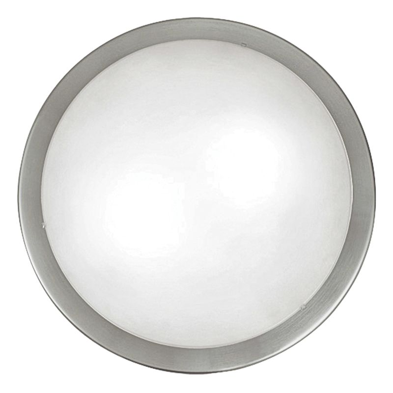Eglo 82941 Planet Two-Bulb Wall/Ceiling Fixture Matte Nickel Indoor