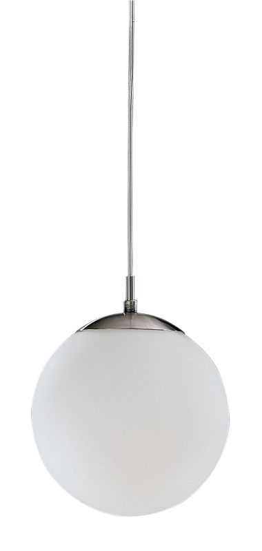 Eglo 85261 Rondo Single-Bulb Pendant Matte Nickel Indoor Lighting