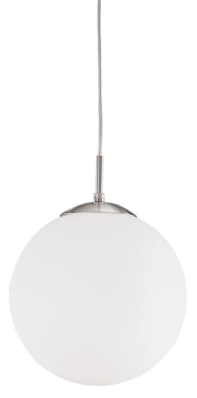 Eglo 85262 Rondo Single-Bulb Pendant Matte Nickel Indoor Lighting