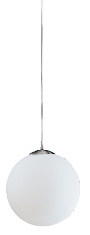 Eglo 85263 Rondo Single-Bulb Pendant Matte Nickel Indoor Lighting