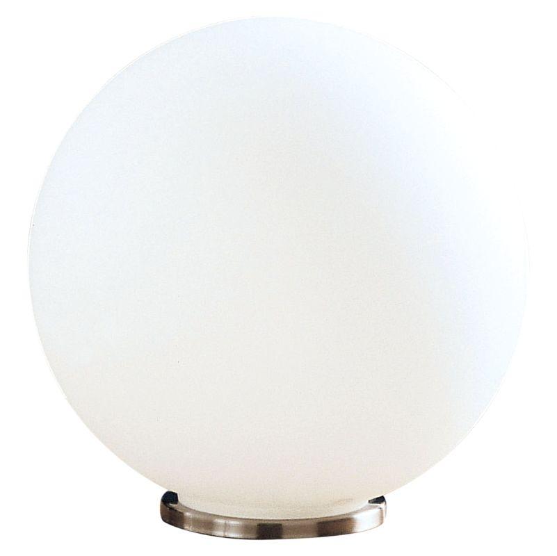 Eglo 85265 Rondo Single-Bulb Table Lamp Silver Lamps Accent Lamps