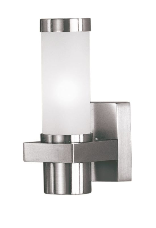 Eglo 86385 Konya Single-Bulb Outdoor Sconce Matte Nickel Outdoor Sale $88.00 ITEM: bci1054448 ID#:86385A UPC: 9008606018505 :