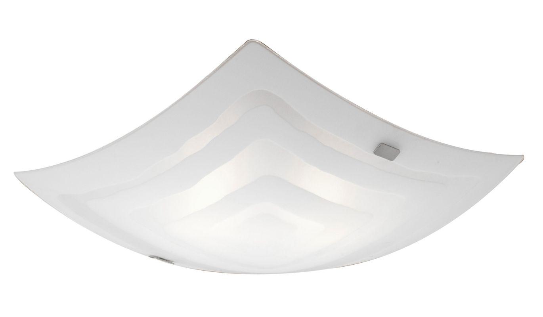 Eglo 86852 Aero 1 Single-Light Wall Sconce Matte Nickel Indoor