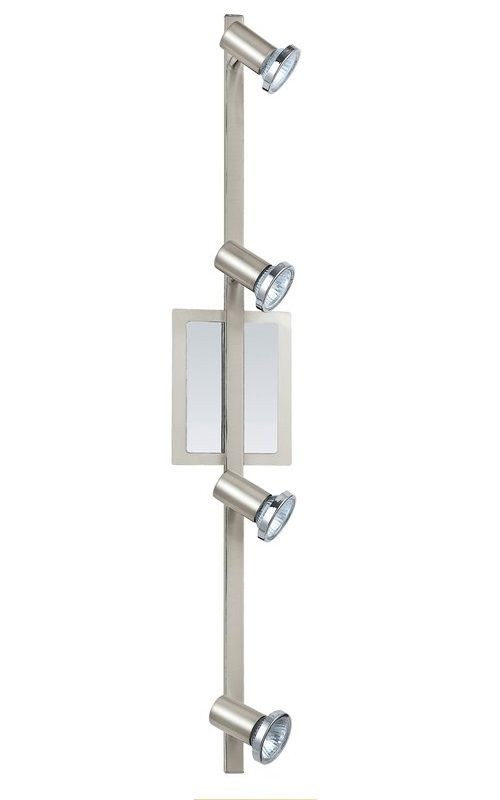 "Eglo 200094A Rottelo 4 Light 31"" Tall Adjustable Track Light Matte"