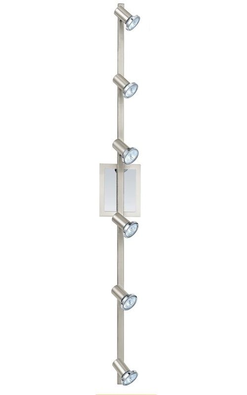"Eglo 200095A Rottelo 6 Light 46"" Tall Adjustable Track Light Matte"
