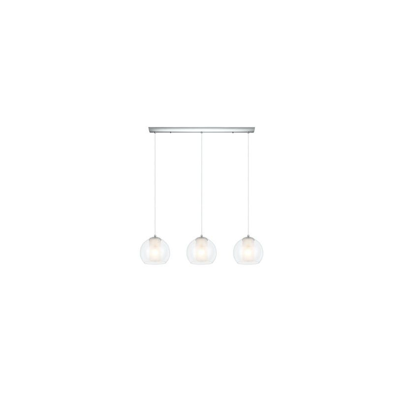 Eglo 200418 Bolsano 3 Light Multi Light Pendant Chrome Indoor Lighting Sale $200.00 ITEM: bci2686924 ID#:200418A UPC: 9008606122387 :