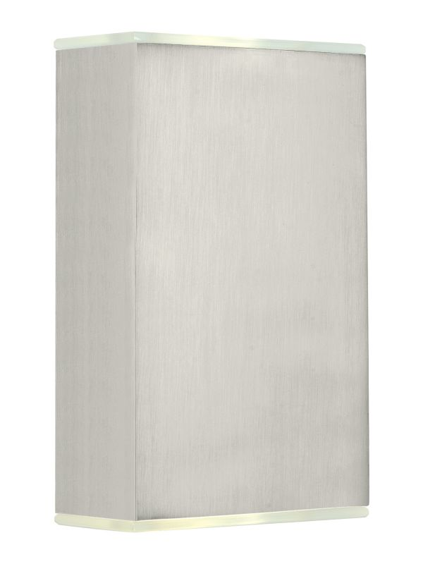 Eglo 200431 Abida 2 Light LED Wall Sconce Brushed Nickel Indoor