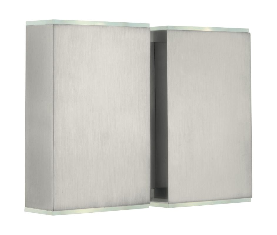 Eglo 200432 Abida 4 Light LED Wall Sconce Brushed Nickel Indoor