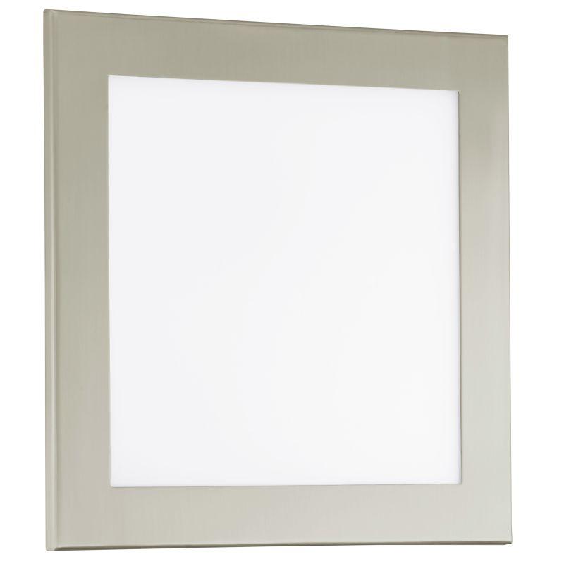 Eglo 91683 LED Auriga 1 Light Wall Sconce Matte Nickel Indoor Lighting