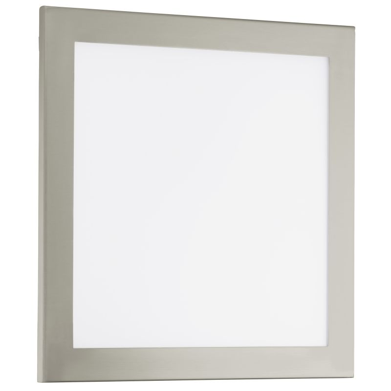 "Eglo 91684 LED Auriga 4"" High 1 Light Wall Sconce Matte Nickel Indoor"