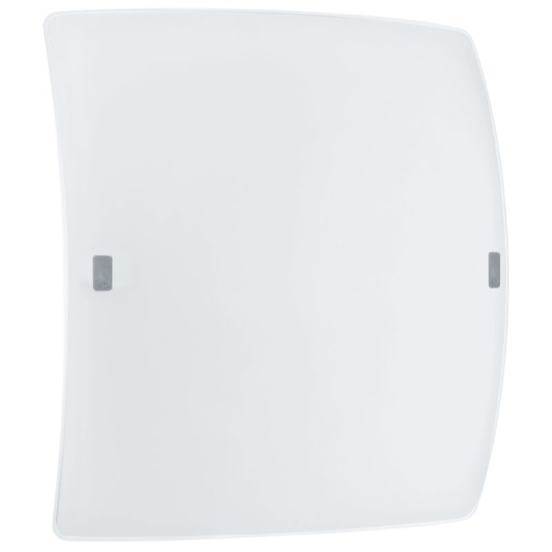 "Eglo 91852 LED Borgo 2 17"" High 1 Light Wall Sconce Matte Nickel"