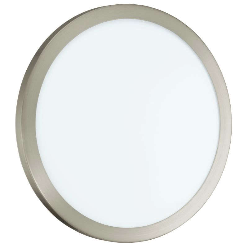 "Eglo 91854 LED Arezzo 4"" Height 1 Light Wall Sconce Matte Nickel"