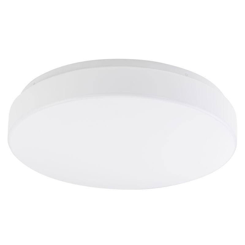 Eglo 92269 Beramo 1 Light LED Flush Mount Ceiling Fixture White Indoor