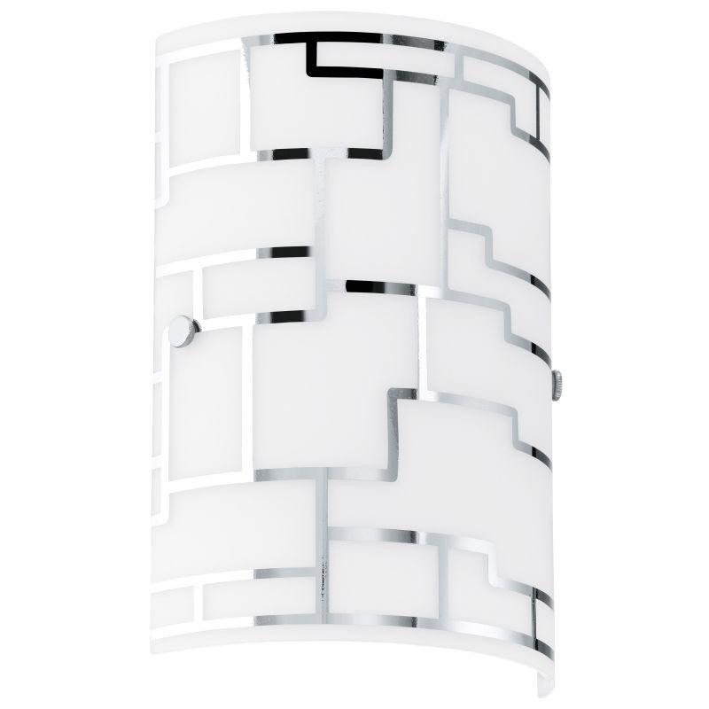 Eglo 92564 Bayman 1 Light Wall Washer Chrome Indoor Lighting Wall