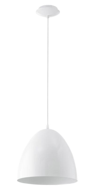 "Eglo 92717 Coretto 59"" Height 1 Light Foyer Pendant Steel / Glossy"