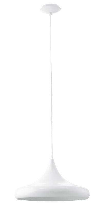 "Eglo 92718 Coretto 15.75"" Diameter 1 Light Foyer Pendant Steel /"