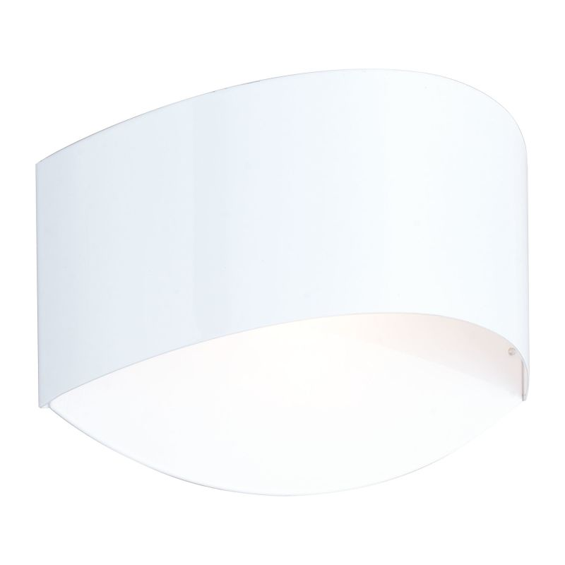 Eglo 92787 Ilanie 1 Light Wall Sconce Glossy White Indoor Lighting Sale $21.54 ITEM: bci2546164 ID#:92787A UPC: 9008606123254 :