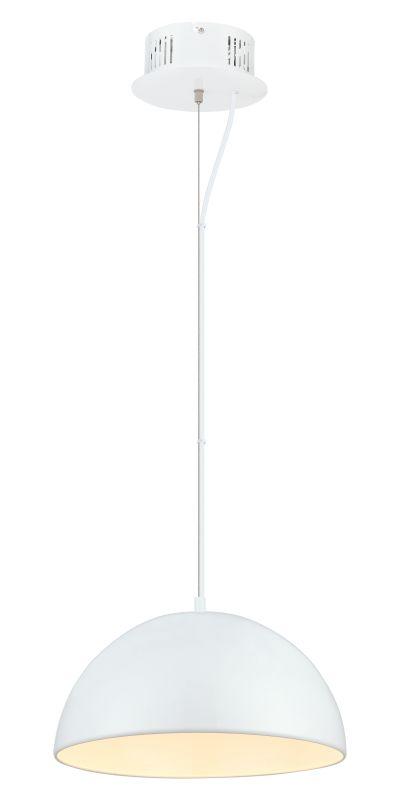 Eglo 92952 Gaetano 1 Light LED Full Sized Pendant Glossy White Indoor