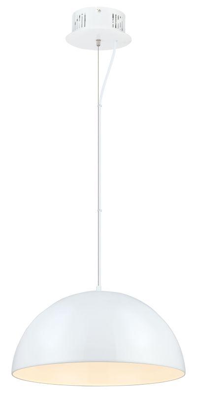 Eglo 92954 Gaetano 1 Light LED Full Sized Pendant Glossy White Indoor
