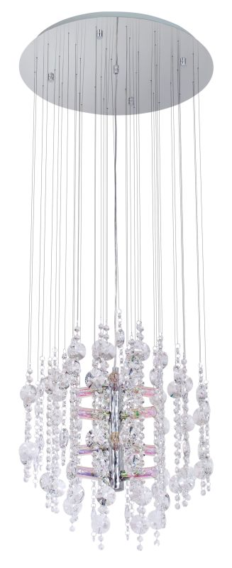 Eglo 89005A 12 Light Single Tier Chandelier from the Alexandria
