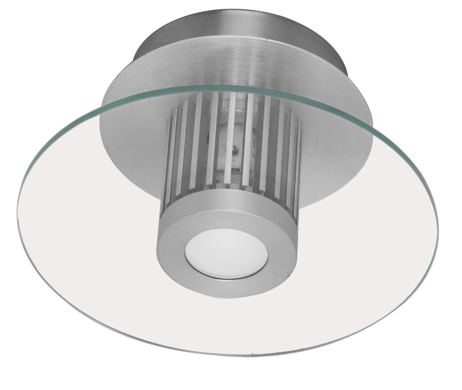 Eglo 89117A 1 Light Flush Mount Ceiling Fixture from the Chiron
