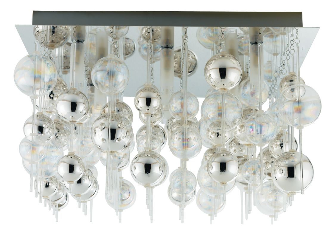 Eglo 89159A 9 Light Flush Mount Ceiling Fixture from the Morfeo