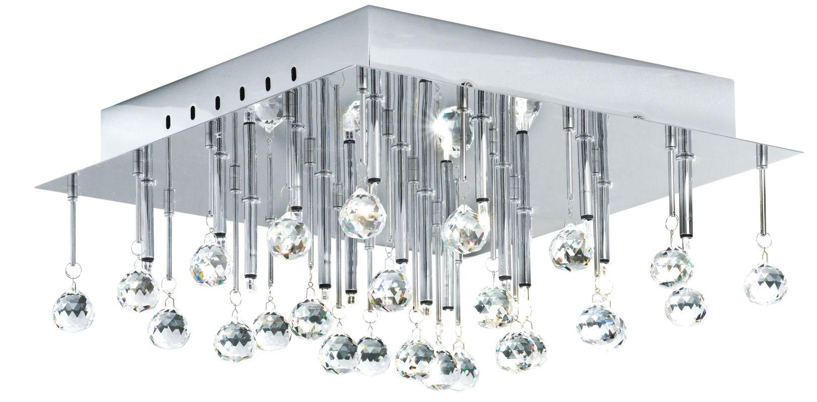 Eglo 89779A 16 Light Semi-Flush Ceiling Fixture from the Soraya