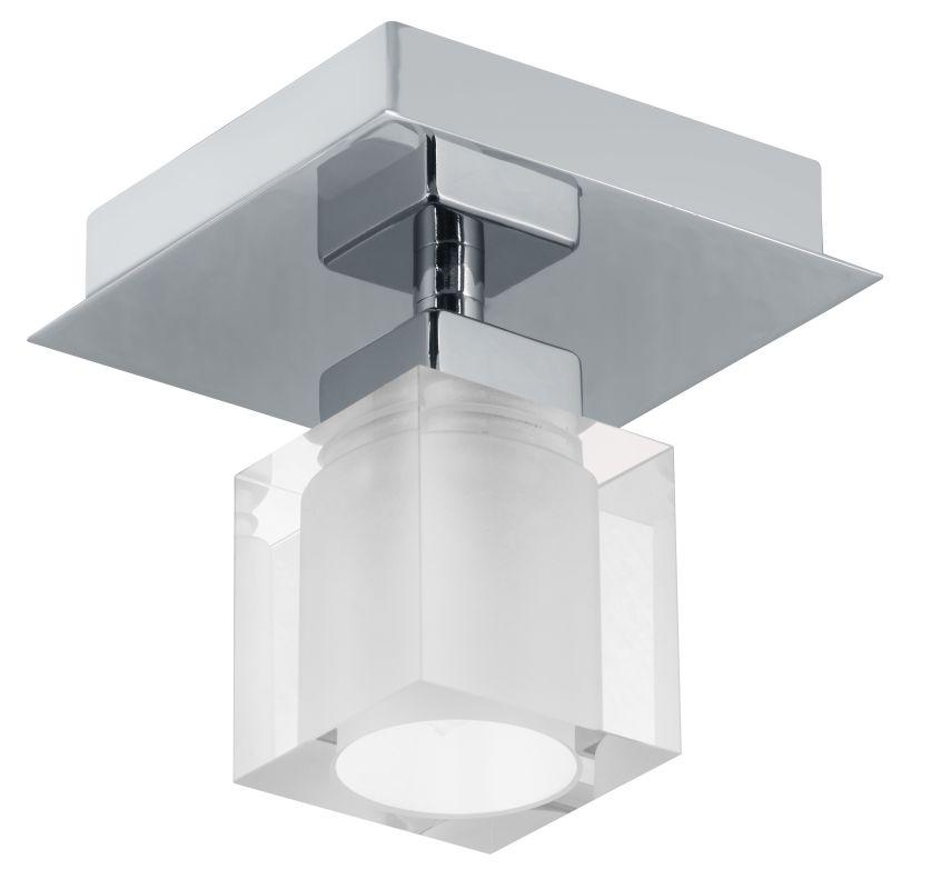 Eglo 90117A 1 Light Semi-Flush Ceiling Fixture from the Bantry