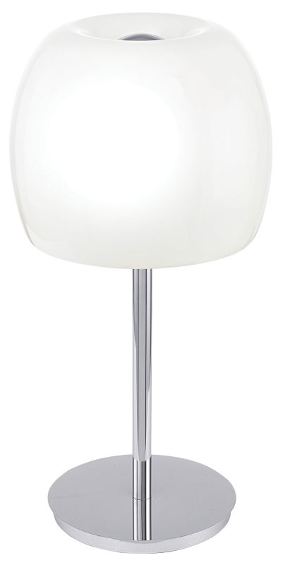 Eglo 90125A 3 Light Table Lamp from the Dario Collection Chrome Lamps