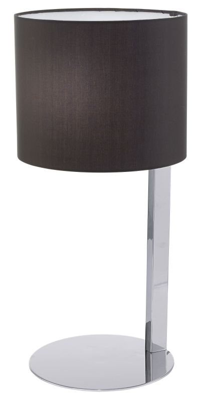 Eglo 90126A 1 Light Table Lamp from the Chicco Collection Chrome Lamps