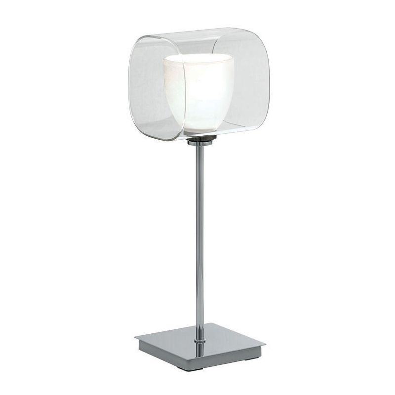 Eglo 90193A 1 Light Table Lamp from the Lou Collection - (Bulb