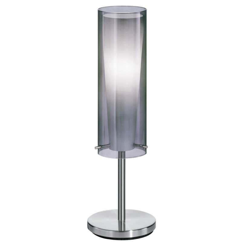 Eglo 90308A 1 Light Table Lamp from the Pinto Nero Collection Matte