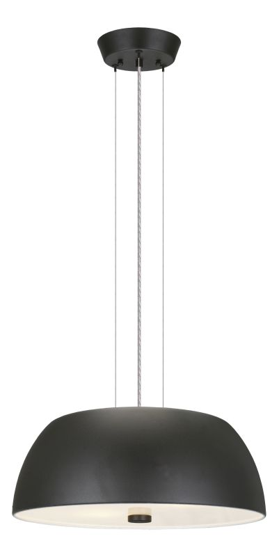 Eglo 90369A 2 Light Pendant from the Ryan Collection - (Bulbs