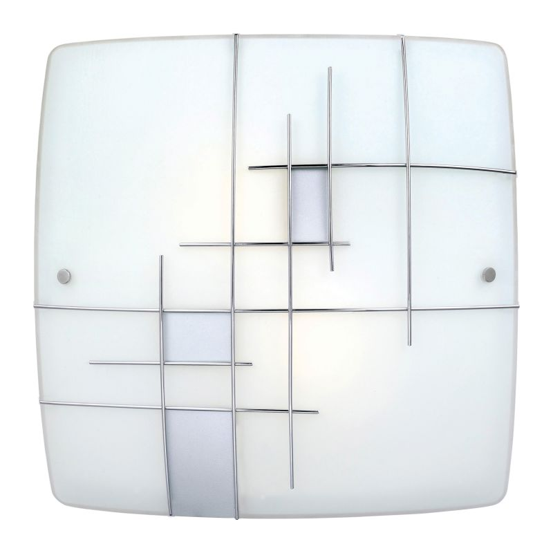 Eglo 90383A 2 Light Flush Mount Ceiling Fixture from the Raya 1 Sale $108.00 ITEM: bci1927637 ID#:90383A UPC: 9008606109074 :