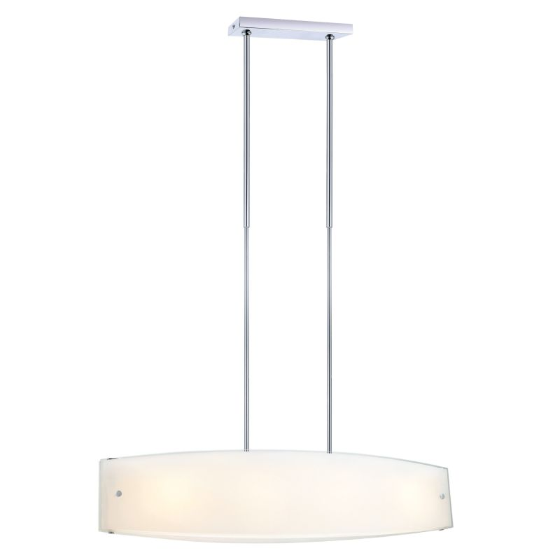 Eglo 90531A 4 Light Foyer Chandelier from the Lazio Collection -
