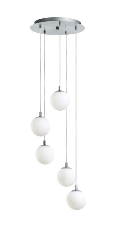 Eglo 90556A 5 Light Multi Light Pendant from the Ferrol Collection -
