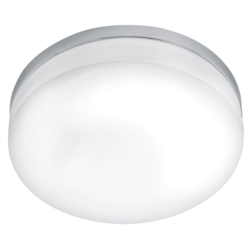 Eglo 90569A 1 Light Flush Mount Ceiling Fixture from the Lora