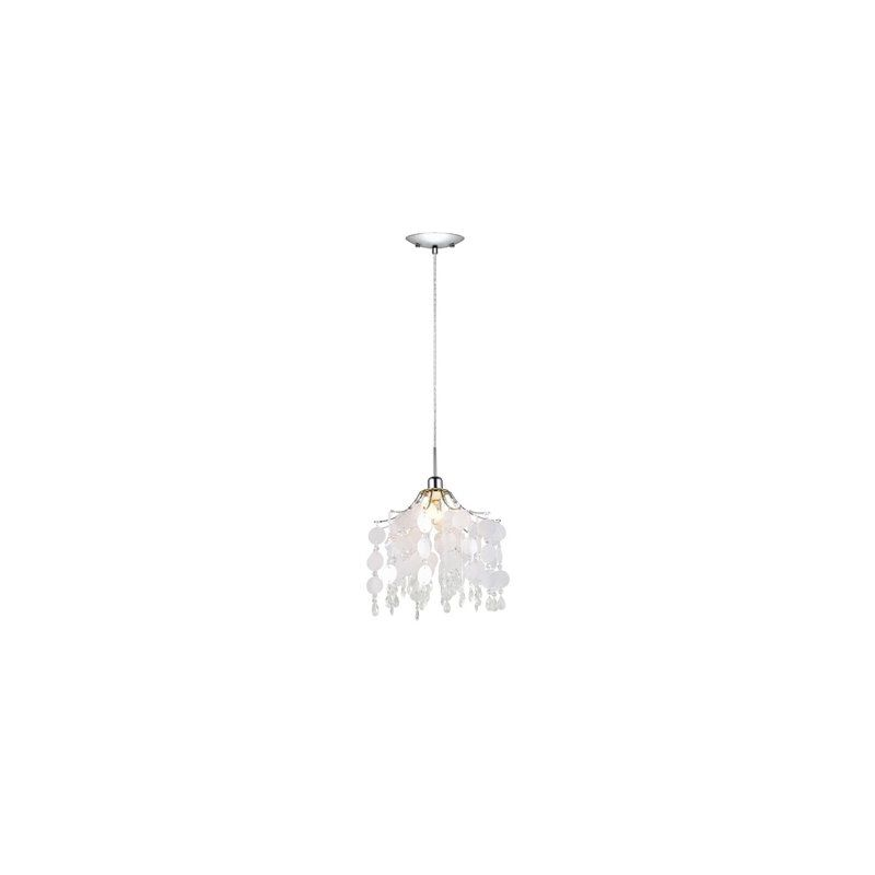 Eglo 91046A Fedra Large Ceiling Mount Pendant with Crystal Glass