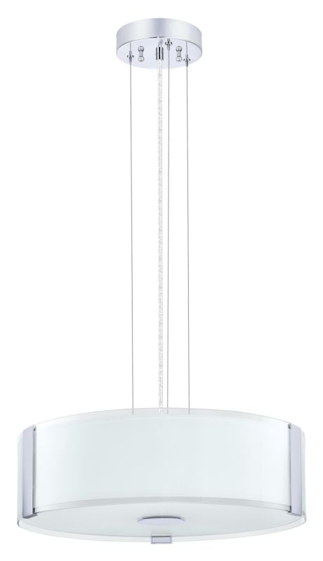 Eglo 91255A Varano 3x60W Pendant Light in Chrome Finish Chrome Indoor