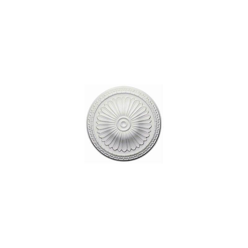 "Ekena Millwork CM14AX 15"" Wide Alexa Ceiling Medallion White Accessory"